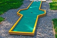 小高尔夫球14 免版税库存照片