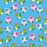 小鳄鱼或鳄鱼 免版税库存图片