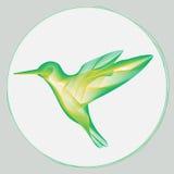 小鸟风格化标志 向量例证