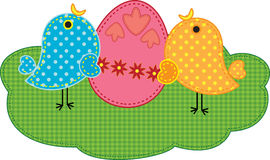 小鸡复活节 免版税库存图片