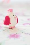 小鸡装饰复活节 免版税库存图片
