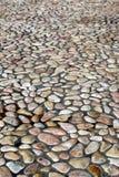 小鹅卵石的模式 免版税库存照片