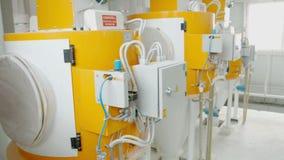 小麦面粉的生产的电子磨房机械 五谷设备 股票视频