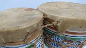 小鼓陶瓷精力的皮 免版税图库摄影
