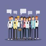 小组人企业队用途机动性 库存例证