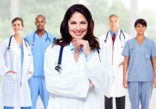 小组住院医生 库存图片