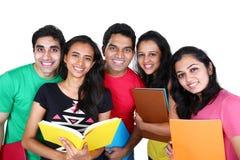 小组印地安学生 免版税库存照片