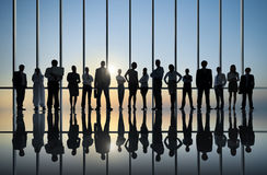 小组国际商业人 免版税库存照片