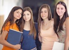 小组学生 免版税图库摄影