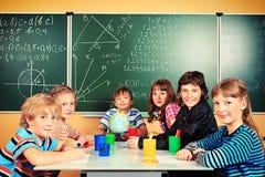 小组孩子 免版税图库摄影