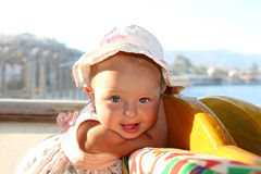 小婴孩 图库摄影
