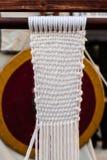 小织布机 库存图片