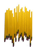 小组新的2支铅笔 免版税库存照片