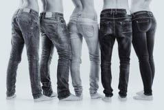 小组牛仔裤 免版税库存图片