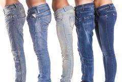 小组牛仔裤 免版税库存照片