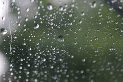 小滴玻璃水 库存图片