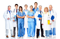 小组医生。 免版税库存照片