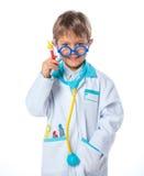 小医生。 库存图片