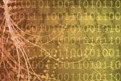 小说网络虚拟事实的科学 库存照片