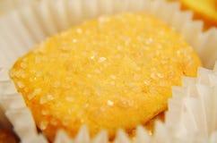 小黄色曲奇饼 库存图片