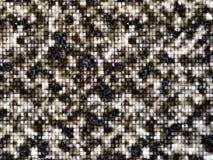 小黑褐色灰色的马赛克crytallize 免版税库存图片