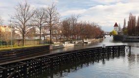 小水运河和锁 股票视频