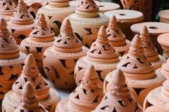 小组陶器 免版税图库摄影