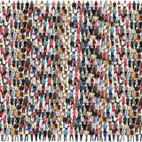 小组青年人背景人群多文化五颜六色的mu 库存图片