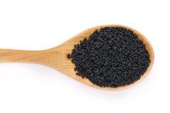 黑小茴香籽 免版税库存照片