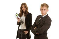 小组businesspersons工作 免版税图库摄影
