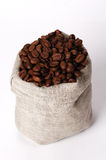 小3个袋子的咖啡 库存照片