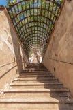 小Furstenberg庭院楼梯  库存照片
