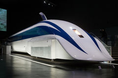 小Maglev MLX01-1火车在日本 库存照片