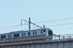 小Skytrain在上野驻地 库存图片