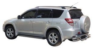小SUV孤立 免版税库存照片