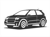 小SUV概念 免版税图库摄影