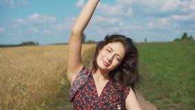 少女画象夏天领域的 影视素材