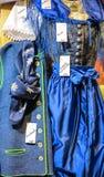 少女装-传统巴法力亚妇女的衣裳 库存图片