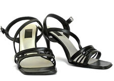 少女鞋子 免版税库存照片