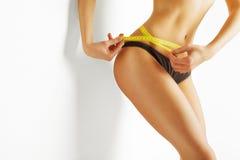 少妇评定腰部 图库摄影