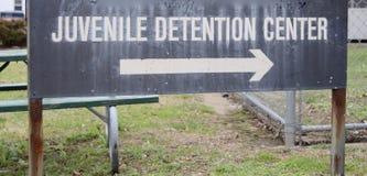 少年拘留中心 免版税库存照片