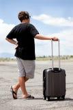 少年旅行 免版税库存照片