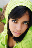 少年的女孩 图库摄影