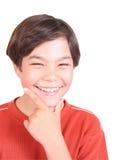 少年的系列 免版税图库摄影