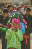 少数族裔女孩 库存照片