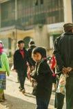 少数族裔孩子 图库摄影