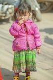 少数族裔婴孩,在老东范market 免版税库存照片