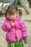 少数族裔婴孩,在老东范market 图库摄影