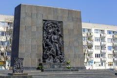 少数民族居住区英雄纪念碑 图库摄影
