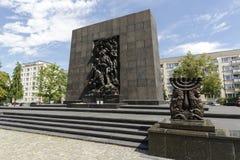 少数民族居住区英雄纪念碑 免版税库存图片